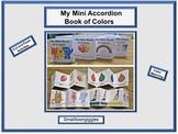 Color Match Mini Accordion Books Cut & Paste Fine Motor Ac
