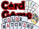 Color Matching PRINTABLE CARD GAME (English Communication