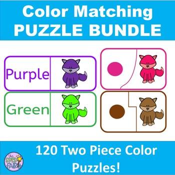 Color Matching Puzzle Bundle