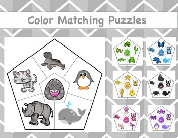 Color Matching Puzzles