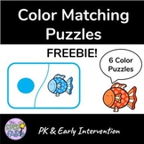 Color Matching Puzzles - FREEBIE
