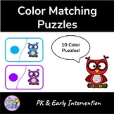 Color Matching Puzzles - Owls
