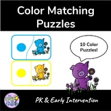 Color Matching Puzzles - Pigs