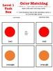 Color Matching Task Box ~Freebie~