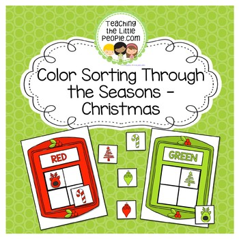 Color Matching Through the Seasons - Christmas