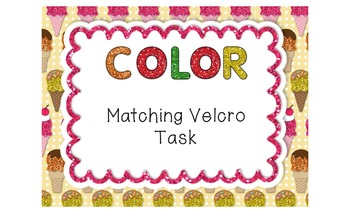 Color Matching Velcro Task