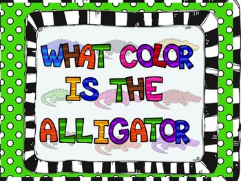 Color Matching: What Color is the Alligator?