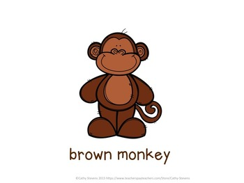 Color Matching: What Color is the Monkey?