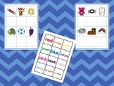 Color Matching Work Mat.  Printable Preschool Curriculum Game