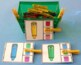 Color Matching and Color Words Clip Cards – Crayon Theme