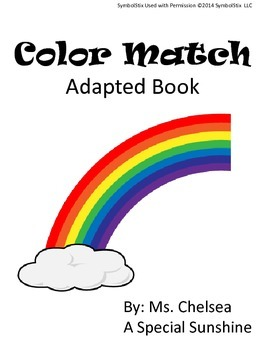Color Matching for Early Childhood or Special Education