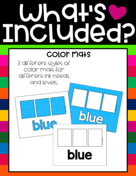 Color Mats by Education and Inspiration