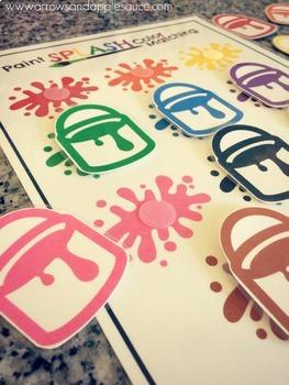 Color Matching Paint Splash Game