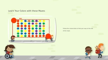 Color Mazes