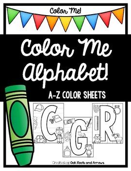 Color Me Alphabet!