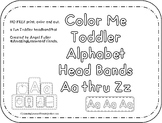 Color Me Alphabet Headbands Aa Thru Zz