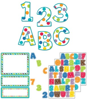 Color Me Bright Large and Small Letters SALE 20% OFF 144938