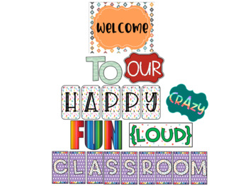 Color Me Bright Welcome to Our Classroom Bulletin Board