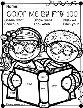 Color Me By First Fry 100