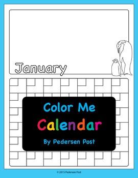 Color Me Calendar