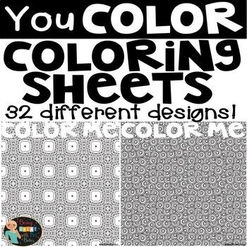 Color Me Coloring Sheets