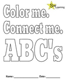 Color Me. Connect Me. ABC's