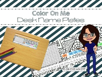 Color Me Desk Name Plates