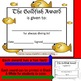 Color Me! End of the Year Awards (Colored Copies Included) Editable & Printable