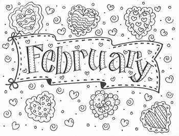 Color Me FEBRUARY