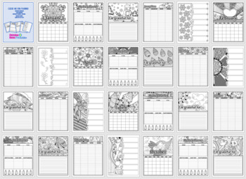 Color Me Fun 12-Month Printable Planner
