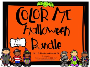 Color Me Halloween Articulation Bundle