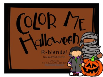 Color Me Halloween: R-blend Sounds