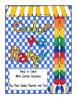 Color Me Happy Math Center Activities