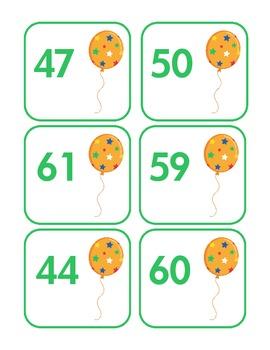 Color Me Happy Number Order Freebie