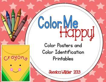 Color Me Happy! - Posters & Color Identification
