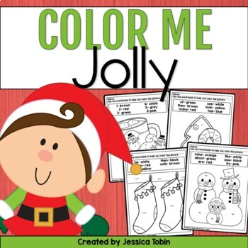Christmas Coloring Sheets Worksheets Teaching Resources Tpt
