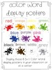 Color Me Kindergarten {Color and Color Word Activities and Centers}