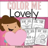 Valentine's Day Coloring Sheets- Valentine's Activities for Primary