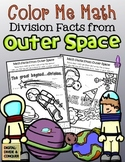 Color Me Math:  Division Facts from Outer Space