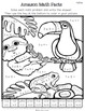 Color Me Math! Multiplication 0-5. Animals of the Amazon