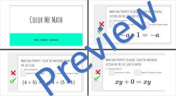 Color Me Math Properties