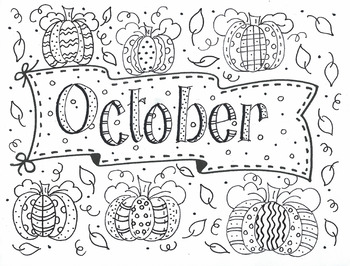 Color Me OCTOBER