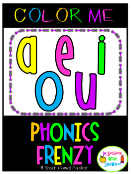 Color Me Phonics Frenzy
