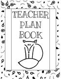 Color Me Plan Book!