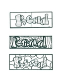 Color Me: READ Bookmarks