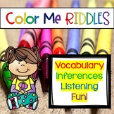 Color Me Riddles Distance Learning