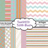 Color Me Sweet Background Bundle
