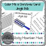 Color Me a Christmas Carol Jingle Bells