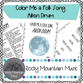 Color Me a Folk Song Aiken Drum