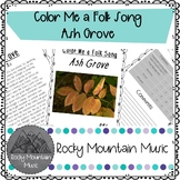 Color Me a Folk Song The Ash Grove